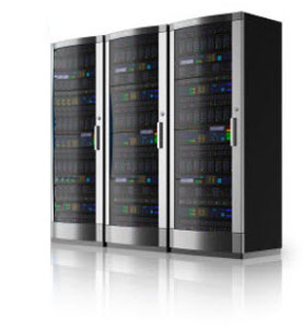 dedicated hosting server rack